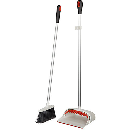 OXO Good Grips Upright Broom Set