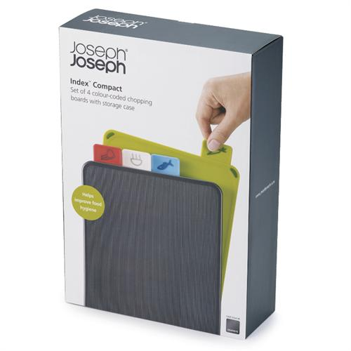 Index Compact Chopping Board Set, Graphite