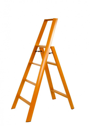 Lucano 4 Step Ladder Orange
