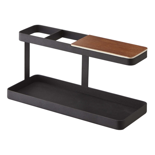 Tower Desk Accessory Bar, Black