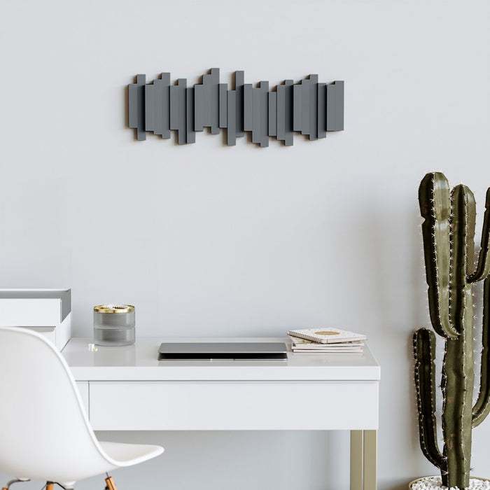 Sticks Wall Hanger, Charcoal