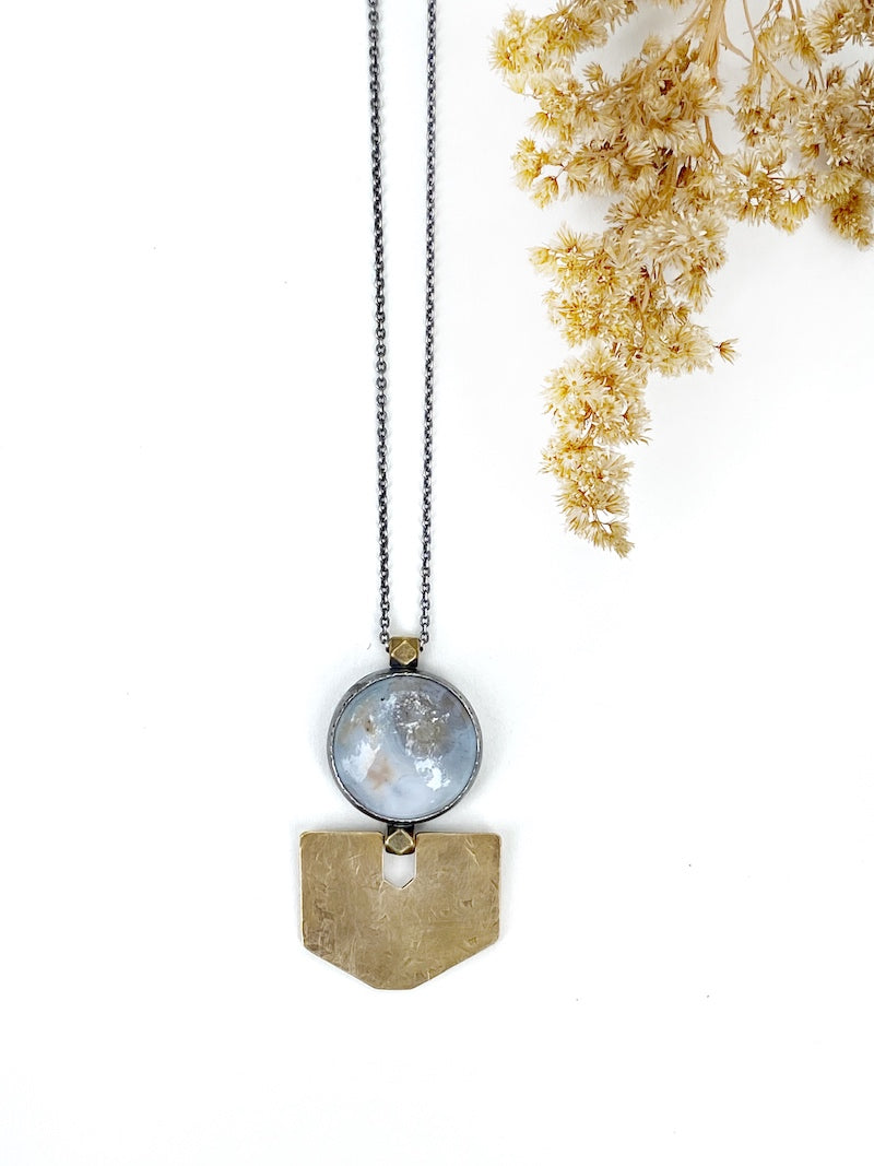 Caravan Necklace with Ocean Jasper | One of a Kind