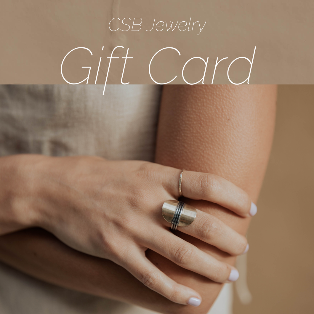Claire Sommers Buck Jewelry Gift Card