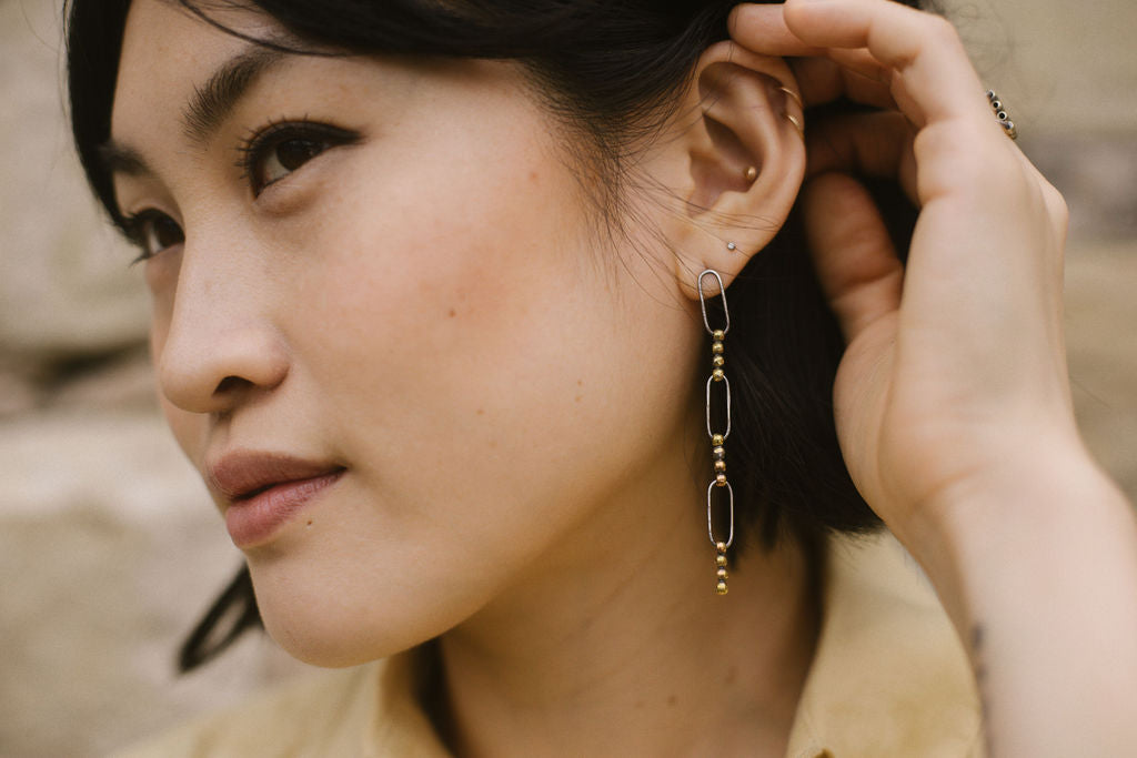 Tonlé Earrings
