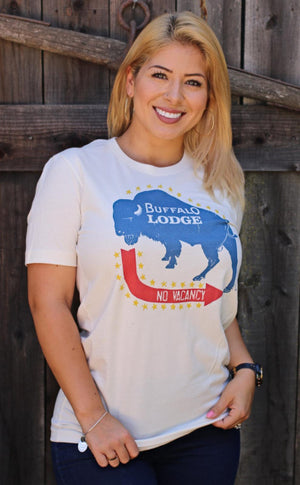 """Ole Buffalo Lodge"" Graphic Tee"