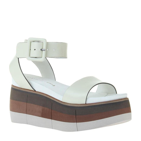 """Ole Altezza In Ice"" Retro Style Wedge Sandals"