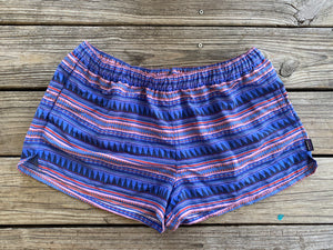 "Tribal/Aztec Pattern Patagonia Barely Baggies 2.5""  ~ Size XL /Queen Bee's Closet"