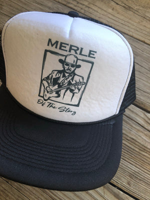 """Ole Merle of the Story"" Snap Back Trucker Hats"