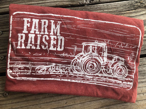 """Ole Ranch & Farm Raised"" Graphic Tee"