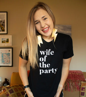 """Ole Wife of the Party"" Graphic Tee"