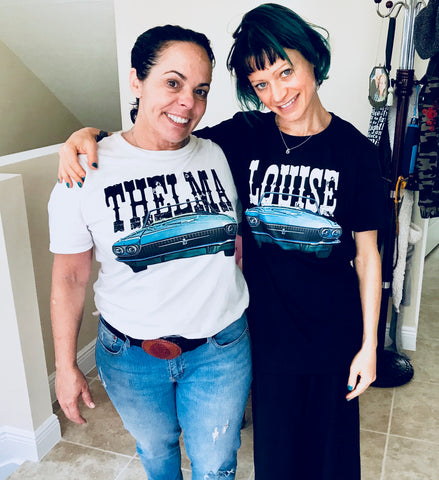 Thelma & Louise Graphic Tees
