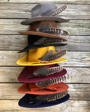 """Ole Jamestown"" Western Boho Cowgirl Hats"