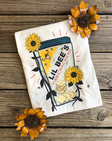 """Ole Fire Cracker"" Lil Bee's Fire Crackers Graphic Tee"