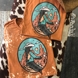 """Ole Frontier"" Desert Cowgirl Graphic Tee (made 2 order)"