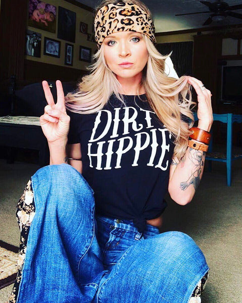 """Ole Dirty Hippie"" Graphic Tee"