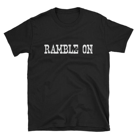 """Gotta Ramble On"" Graphic Tee"