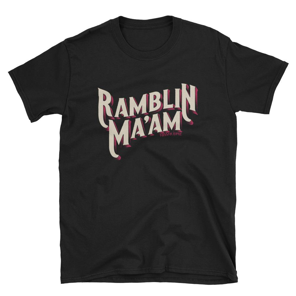 """Ole Ramblin Ma'am"" Graphic Tee"