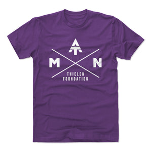 Adam Thielen Men's Cotton T-Shirt | 500 LEVEL