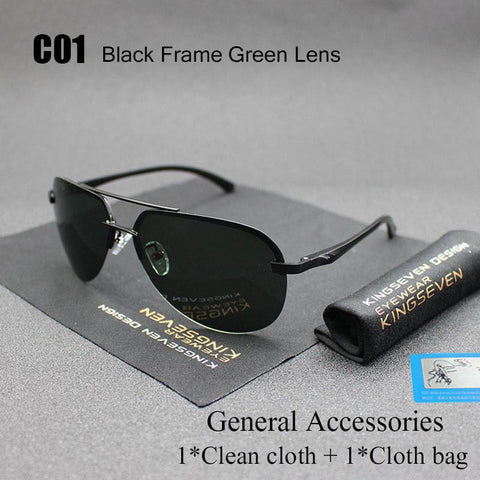 Aluminum Magnesium Polarized  Sunglasses Men