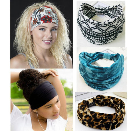 Bohemia BOHO Wide Cotton Stretch Headband