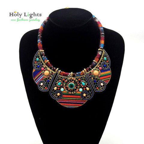 Bohemian Necklace Tribal