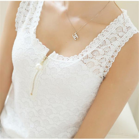 Fashion Summer Style Ladies Tops With Lace Patchwork Fitness Women White Sexy Hollow Out  Lace Chiffon Blouse Shirt 117F 20