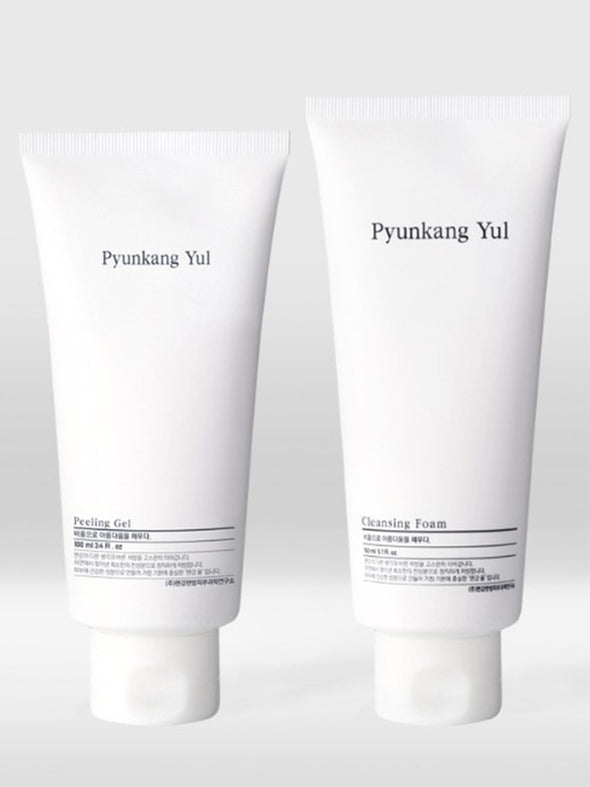Peeling Gel + Cleansing Foam Set