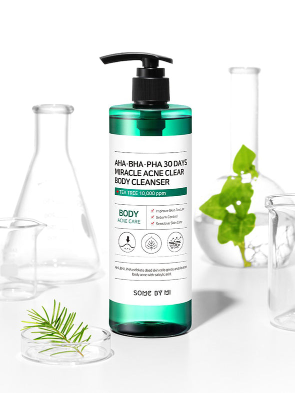 AHA BHA PHA 30 Days Miracle Clear Body Cleanser