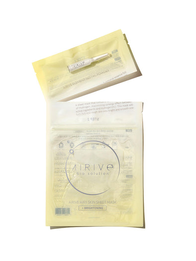 Element No.1 H2 Powder + Airy Skin Sheet Mask