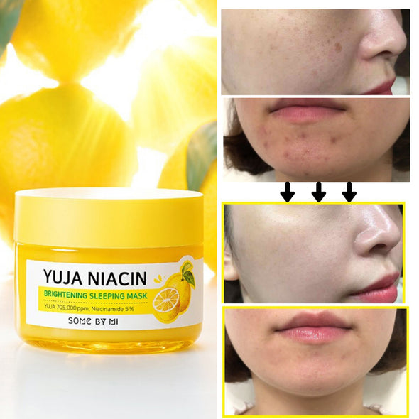 Yuja Niacin Brightening Sleeping Mask