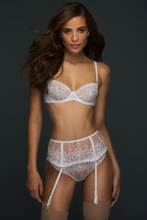 Load image into Gallery viewer, Ivory Allegra Unlined Balconette Set