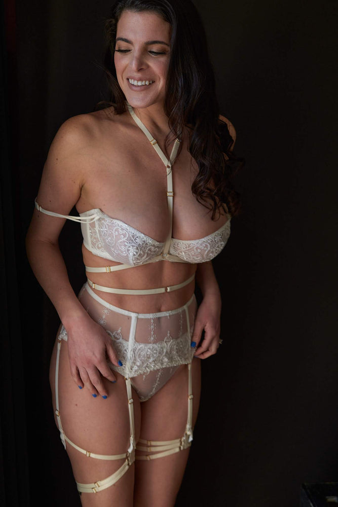 Allegra Bondage Bridal Set - Colette And Sebastian
