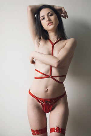 Red Andri Harness