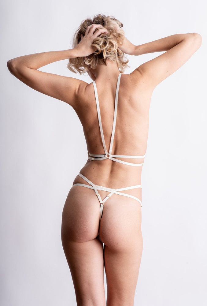Ivory Andri Harness