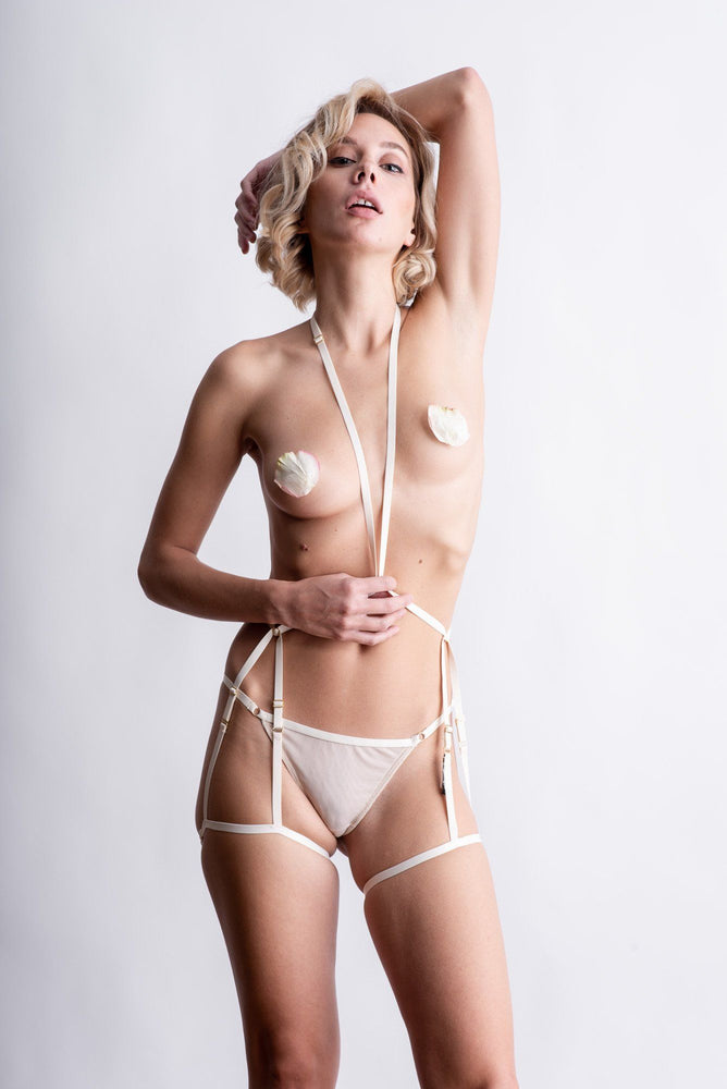 Load image into Gallery viewer, Ivory Coco Bodysuit