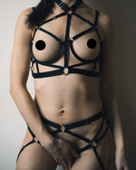 Black Kiki Bondage Set