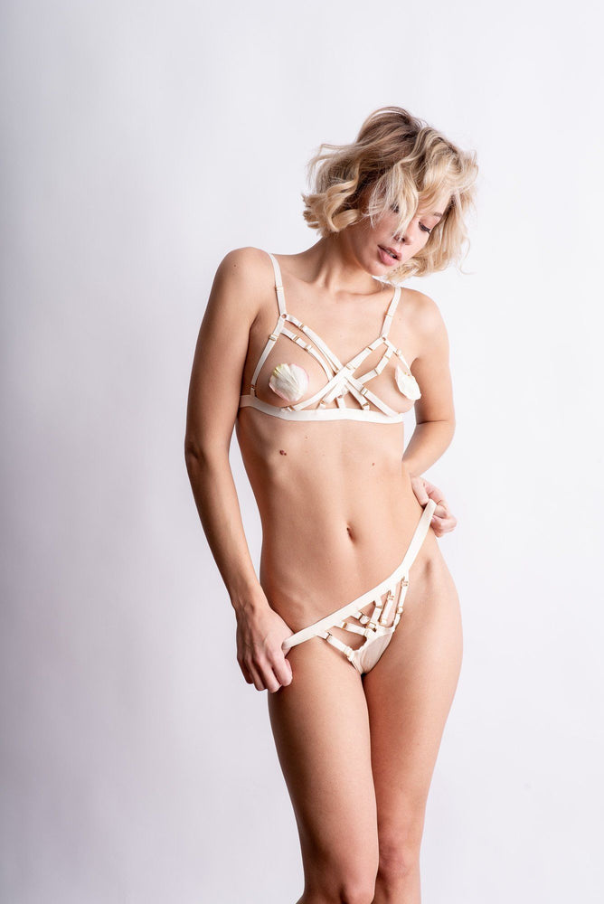 Load image into Gallery viewer, Ivory Natali X Bra