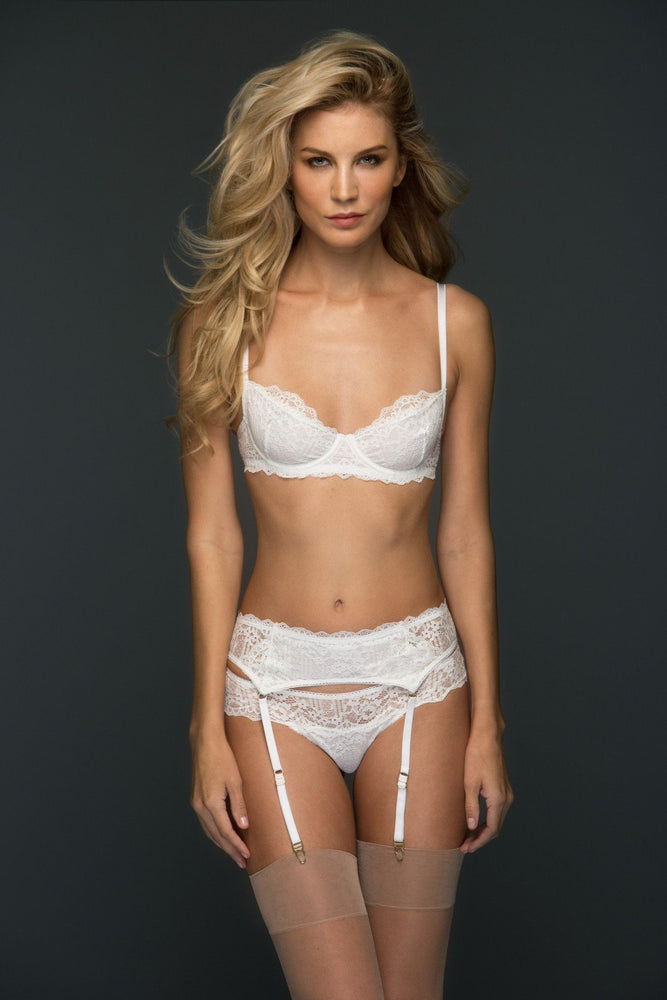 Load image into Gallery viewer, White Oliva 3 Piece Lace Set