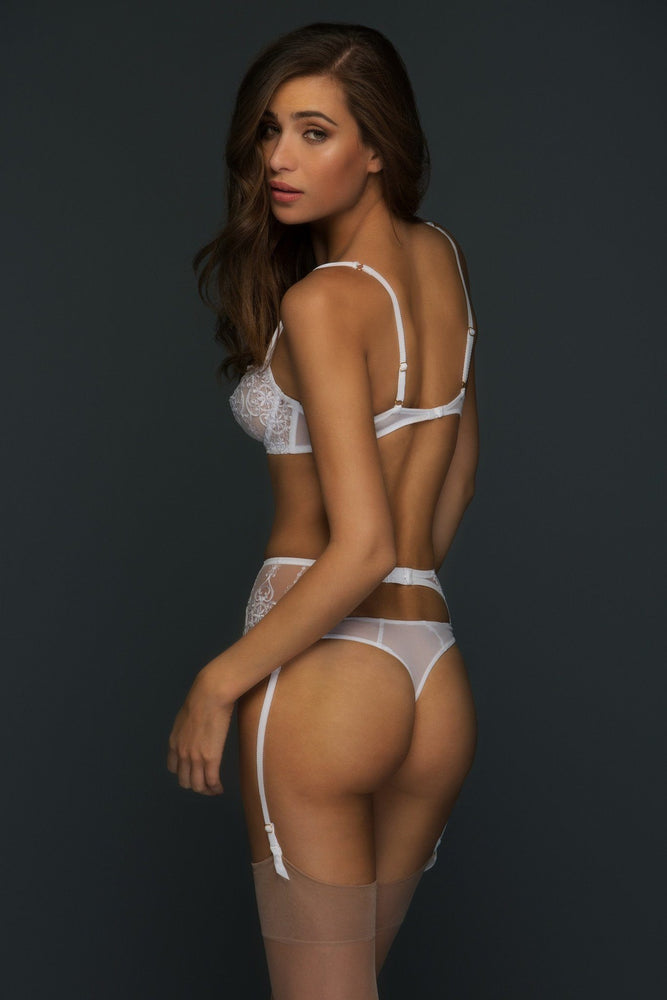 Load image into Gallery viewer, Allegra Unlined Lace Balconette Lingerie Set - Colette And Sebastian