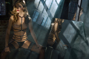 Load image into Gallery viewer, Andri Bondage Harness harness Colette & Sebastian One Size Black 81% Polyamide 19% Elastane