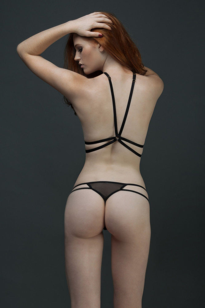 Black Andri Harness