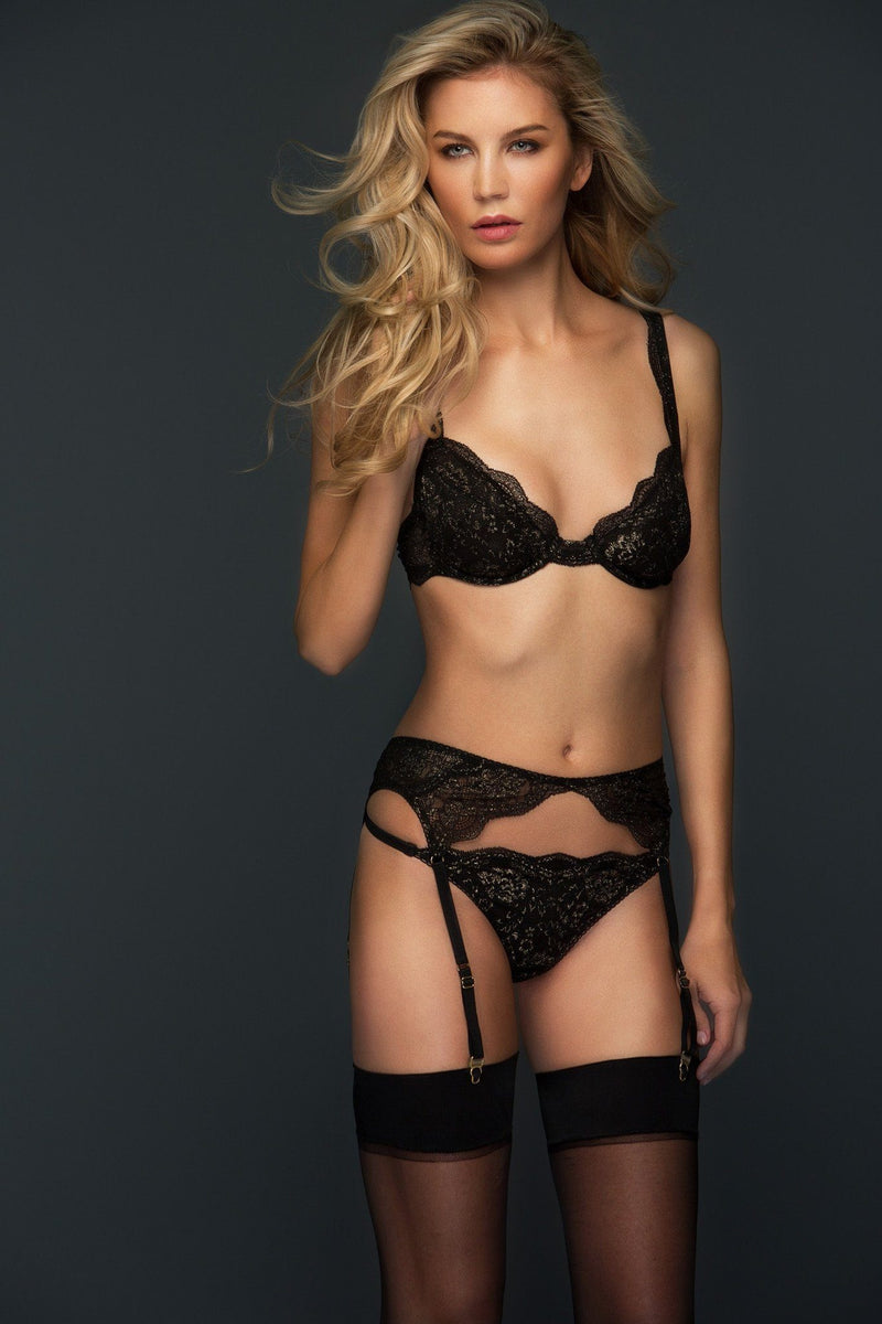 Anastasia Suspender Belt