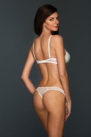 Load image into Gallery viewer, Ivory Chantal Lined Balconette Set