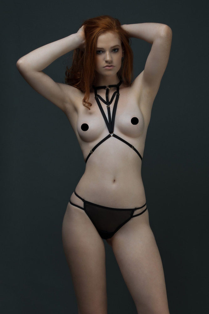 Black Mila Harness