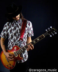 Men's Casual Fashion Button Up Shirt - S/S Paisley Park by Rock Roll n Soul