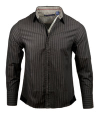 Men's Casual Fashion Button Up Shirt - Outshined by Rock Roll n Soul
