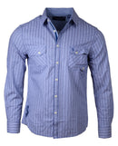 Men's Casual Fashion Button Up Shirt - London Calling by Rock Roll n Soul