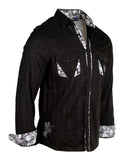 Men's Casual Fashion Button Up Shirt - I Want You by Rock Roll n Soul