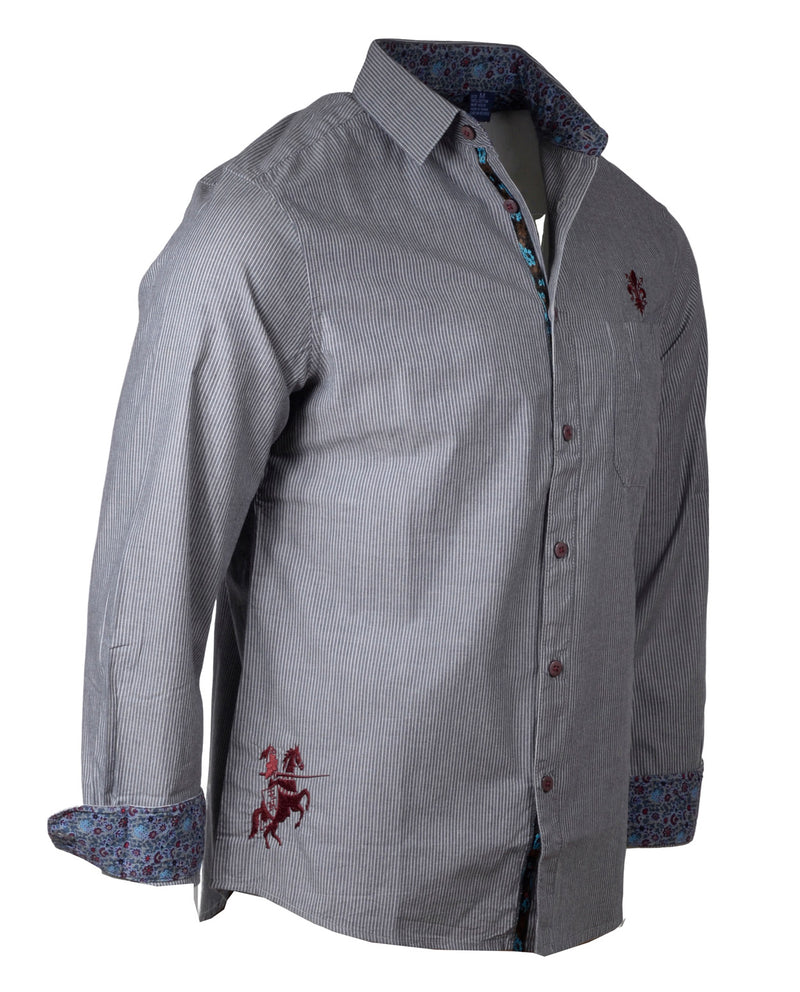Men's Casual Fashion Button Up Shirt - Yesterday by Rock Roll n Soul1