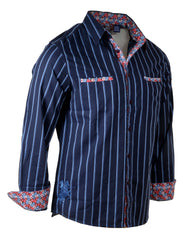 Men's Casual Fashion Button Up Shirt - My Generation by Rock Roll n Soul
